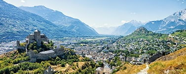 Villas and semi-detached houses for sale in the Canton of Valais (Switzerland)